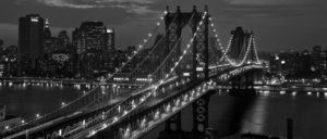 Ponte do Brooklyn em New York