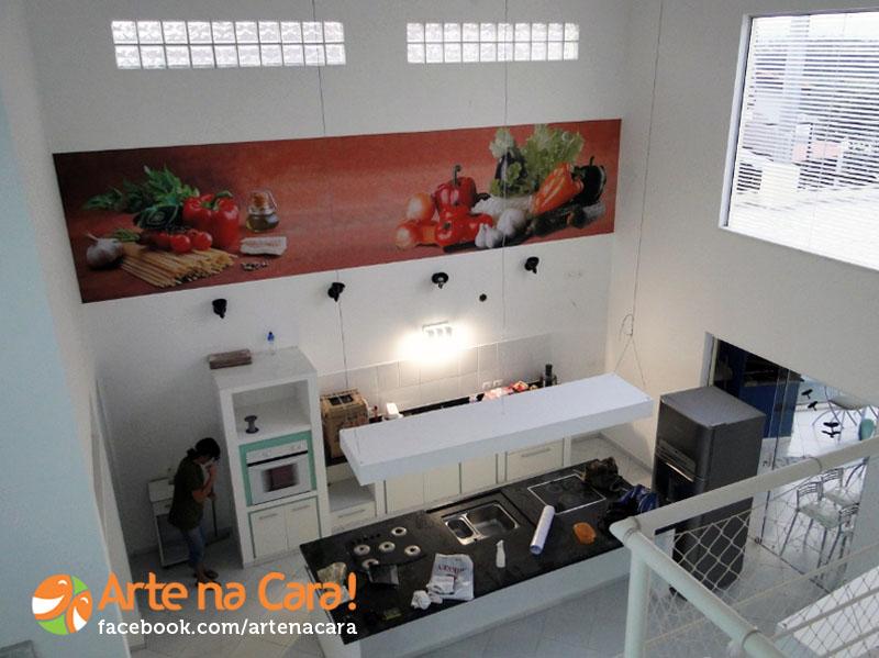 Adesivo de Parede Vegetais na Cozinha by Arte na Cara!