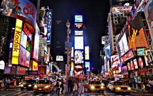 New York Time Square Adesivo