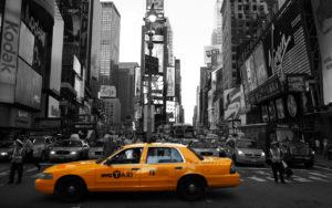Manhattan New York Time Square Adesivo