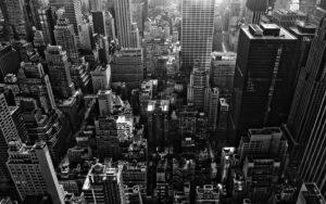 Nova York Vista de Cima dos Prédios