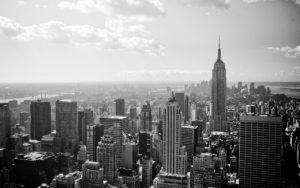Cidade Nova York em Preto e Braco, Arranha-Céus