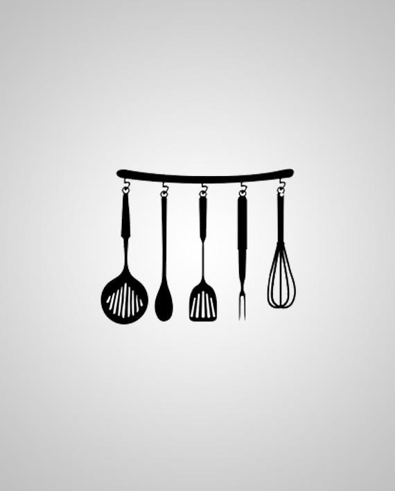 Adesivo Utensílios de Cozinha by Arte na Cara!