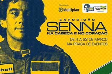 Exposição Ayrton Senna Mostra Shopping Anália Franco