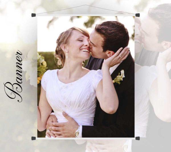 Banner para casamento, festas, eventos