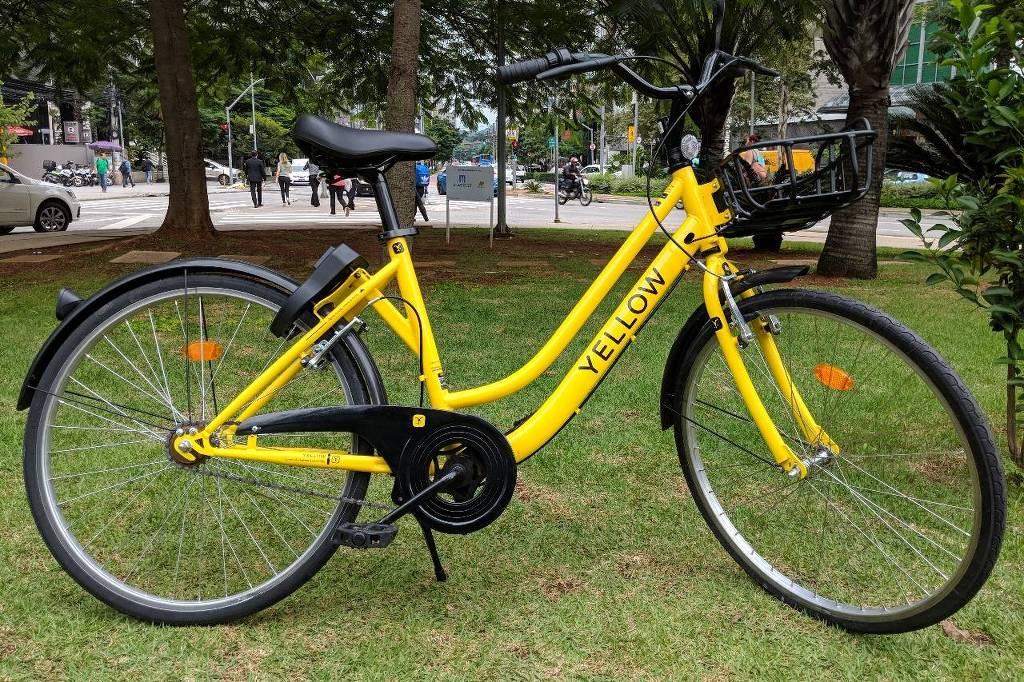 Para evitar roubos, bicicleta da Yellow não terá marchas e contará com GPS, pneu sem câmara de ar e selim antifurto